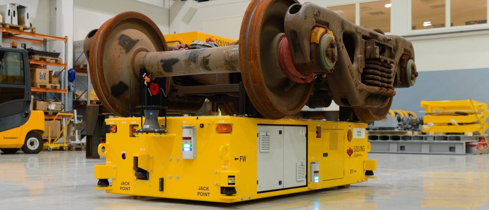 navetta-a-cuscino-d-aria-solving-italia-Railway-bogie-trasporto-materiale-rotabile-ferroviario-AGV-Solving-Mover-soluzioni-a-guida-automatica-filoguidati-laser-guidati-a-navigazione-naturale-automazione-industriale-impianti-di-movimentazione-automatica-a-supporto-di-processi-industriali-sollevamento-sicuro-pulito-flessibile-preciso-di-carichi-pesanti-ingombranti-voluminosi