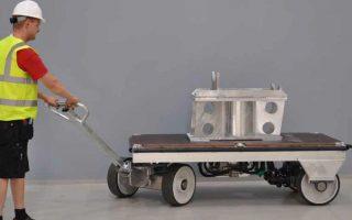 carrelli di movimentazione a motore solving